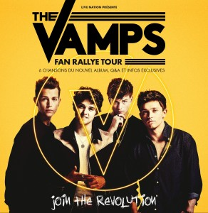 THE VAMPS - FAN RALLYE TOUR - FRANCE 15092015